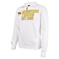 Missouri Tigers JanSport White 1/4 Zip Sweatshirt