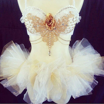 White Goddess W/Matching tutu