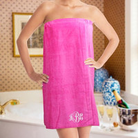 Monogram Spa Wrap