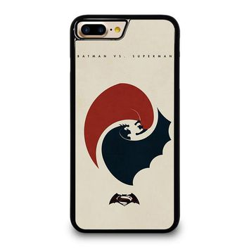 SUPERMAN VS BATMAN YIN YANG iPhone 7 Plus Case Cover