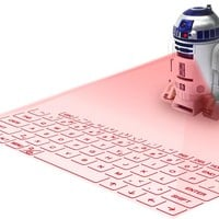 Star Wars R2-D2 Sound Virtual Laser Keyboard