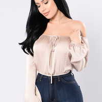 Night On The Town Top - Gold
