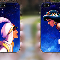iphone 5c case,iphone 5 case,iphone 5s case,iphone 5s cases,iphone 5 cases,iphone 5c case,cute iphone 5s case-Aladdin and Jasmine,in plastic