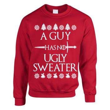 A Guy Has No Ugly Sweater