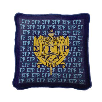 Pure Country Weavers Home Decor Sigma Gamma Rho Pillow