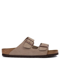Birkenstock Arizona Soft Footbed Taupe Suede Sandals