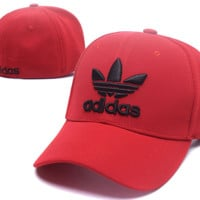 Red Adidas Baseball Cap Hat Snapback