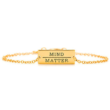 Gorjana Mind Over Matter Bracelet Gold