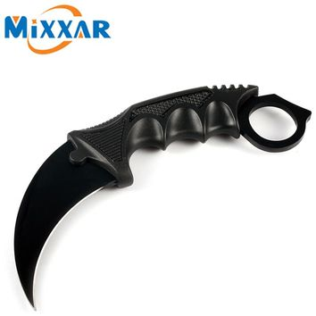 ZK30 New CS GO Knife Counter Strike Fighting Outdoor Survival Hand Tool Tactical knife Claw Hunting Camping knives Tools