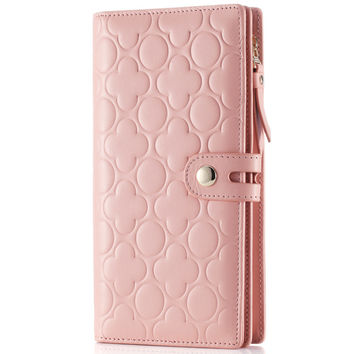 Ladies Leather Bags Casual Wallet [9338184327]