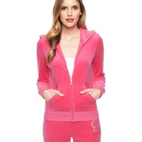 Logo Velour Juicy Frame Original Jacket by Juicy Couture,