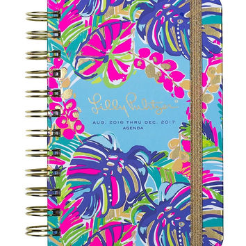 Lilly Pulitzer Large 17 Month Agenda - Exotic Garden