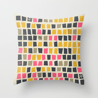 Supercalifragilisticexpialidocious Throw Pillow by Andrea Lauren