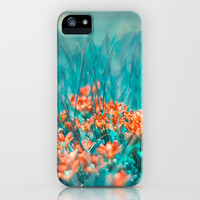 Mint iPhone & iPod Case by SensualPatterns