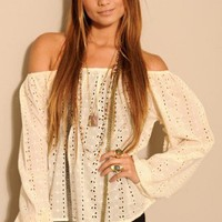 Angel Wing Eyelet Top - SHOP ALL - NEW - Shop Online