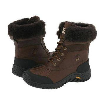 Ugg Boots Cyber Monday Adirondack II 5469 Chocolate For Women 128 33