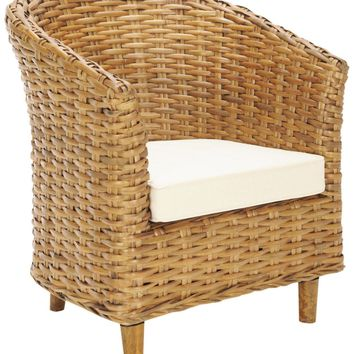 Omni Barrel Chair Honey