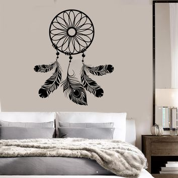 Dreamcatcher Bedroom Decor Talisman Art Dream Catcher Wall Vinyl Sticker Decal Unique Gift (ig3094)