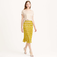 COLLECTION LOOPED-SEQUIN SWEATER-SKIRT