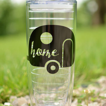 "Camper ""Home"" 20 oz. Tumbler"