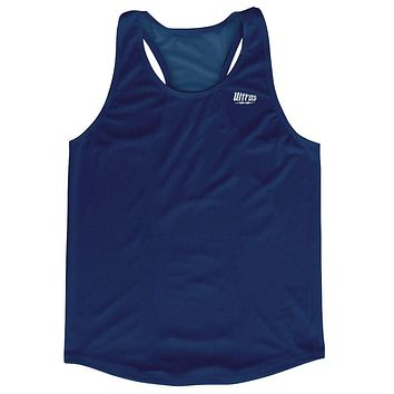 Navy Running Tank Top Racerback Track and Cross Country Singlet Jersey