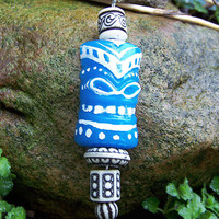 Big Kahuna Glowing Blue Necklace