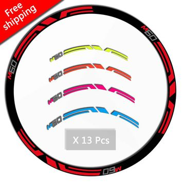 ENV E M60 Wheel set stickers for Mountain Bike bicycle MTB M60 Santa Cruz Race cycling Dirt rim Decals