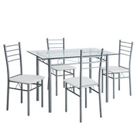 Modway Urban 5 Piece Dining Set