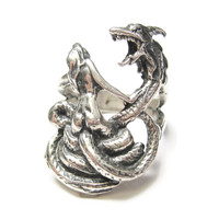 Dragon Lady Ring Sterling Size 6