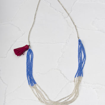 Shabby Apple Lango Blue Necklace