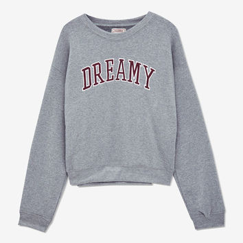 Dreamy Sweatshirt - See all - New - Woman - PULL&BEAR United Kingdom