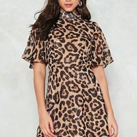 Feline This Leopard Dress