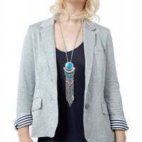 Reversible Grey Blazer- Last One