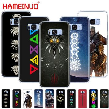 HAMEINUO The Witcher 3 Wild Hunt signs cell phone case cover for Samsung Galaxy S9 S7 edge PLUS S8 S6 S5 S4 S3 MINI