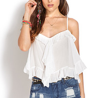 Rustic Ruffled Blouse