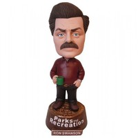 Parks and Recreation Ron Swanson Bobblehead