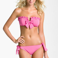 Betsey Johnson 'Cake Pop' Bandeau Bikini Top | Nordstrom