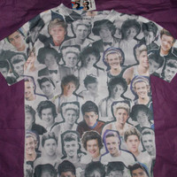 ONE DIRECTION LADIES Ladies T Shirt Primark HARRY LOUIS NIALL ZAYN LIAM