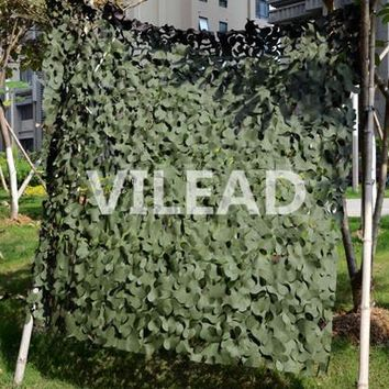 VILEAD 1.5M*3M Green Digital Camo Netting Military Camouflage Jungle Net Shelter Hunting Paintball Game Shade Party Decoration