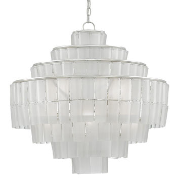 Currey Company Sommelier Blanc Chandelier