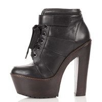 ALOUD Heavy Soled Heeled Boots - Boots - Shoes - Topshop USA