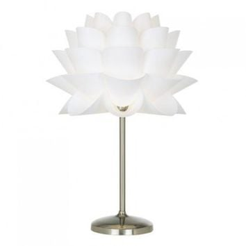 Shop designer lamp shades on wanelo possini euro design white flower acrylic shade table lamp opulentitems mozeypictures Choice Image