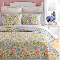Martha Stewart Collection, Hydrangea Quilts - Quilts & Bedspreads - Bed & Bath - Macy's