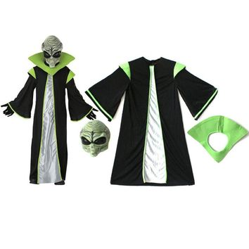 Alien Costume for Kids Halloween Birthday Party