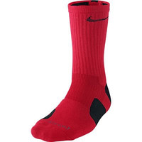 Nike Dri-Fit Elite Basketball Socks (X-Large, UNIVERSITY RED/BLACK//BLACK)