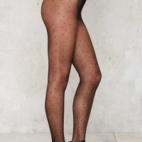 Connect the Dots Sheer Tights