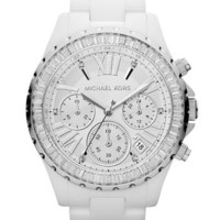 Michael Kors 'Madison' Crystal Bezel Ceramic Watch, 41mm | Nordstrom