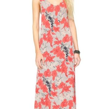 For Love & Lemons Mai Tai Maxi Dress