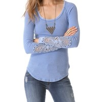Free People Synergy Cuff Top | SHOPBOP