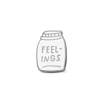 Bottled Up Feelings Pin
